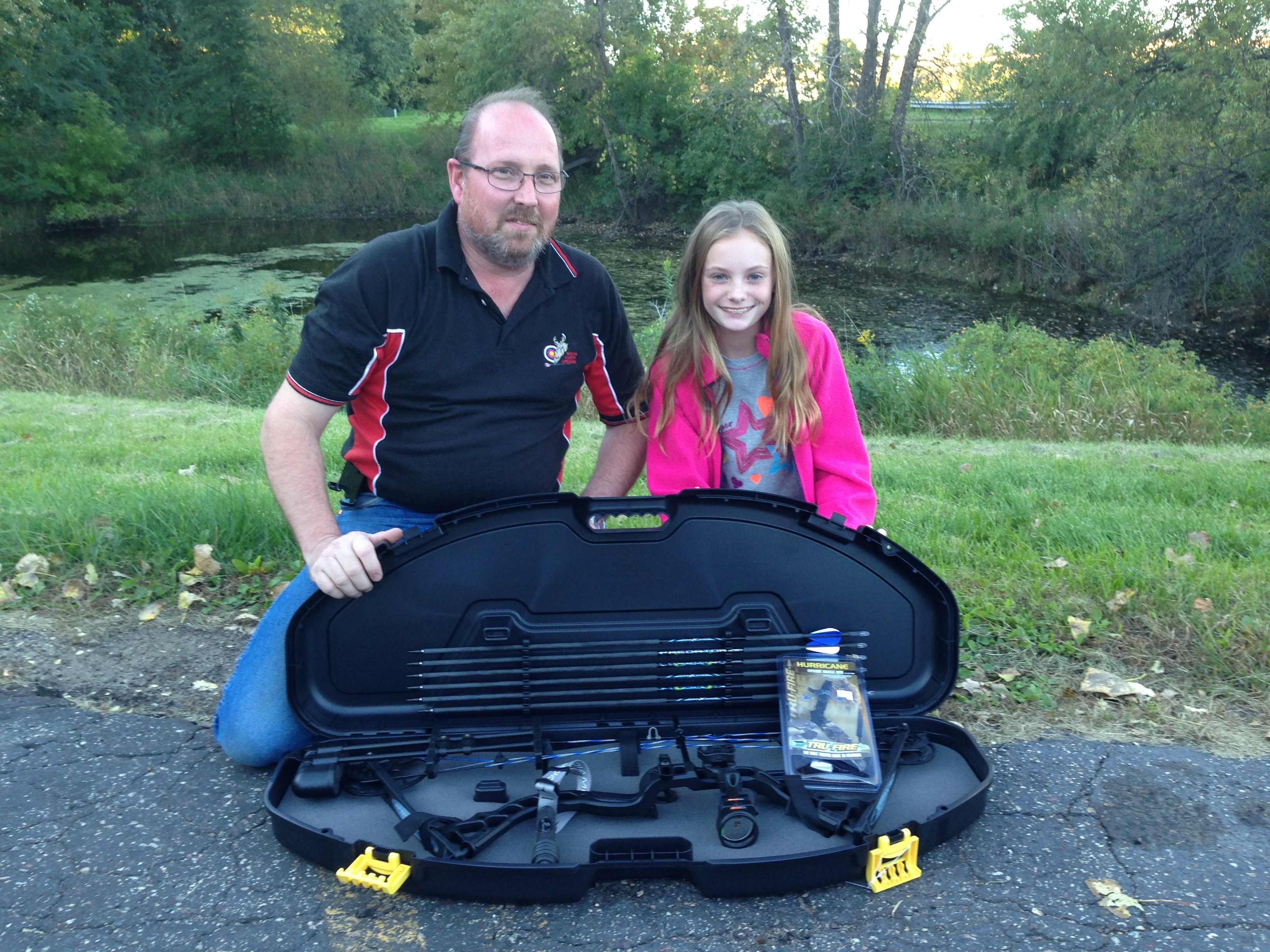 Mia Monroe the winner of the 2015 Archery Package